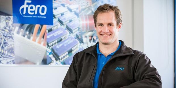 Sam Fulton, chief executive of Fero, says he has noticed local businesses bringing their high-tech manufacturing needs back to NZ.